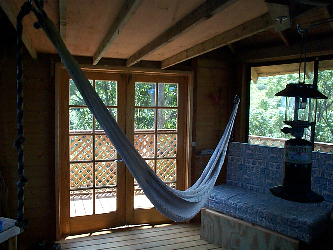 pictures from the nahiku treehouse - Tree House Inside
